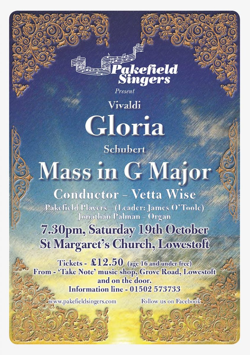 Vivaldi's 'Gloria' and Schubert's Mass in G Major