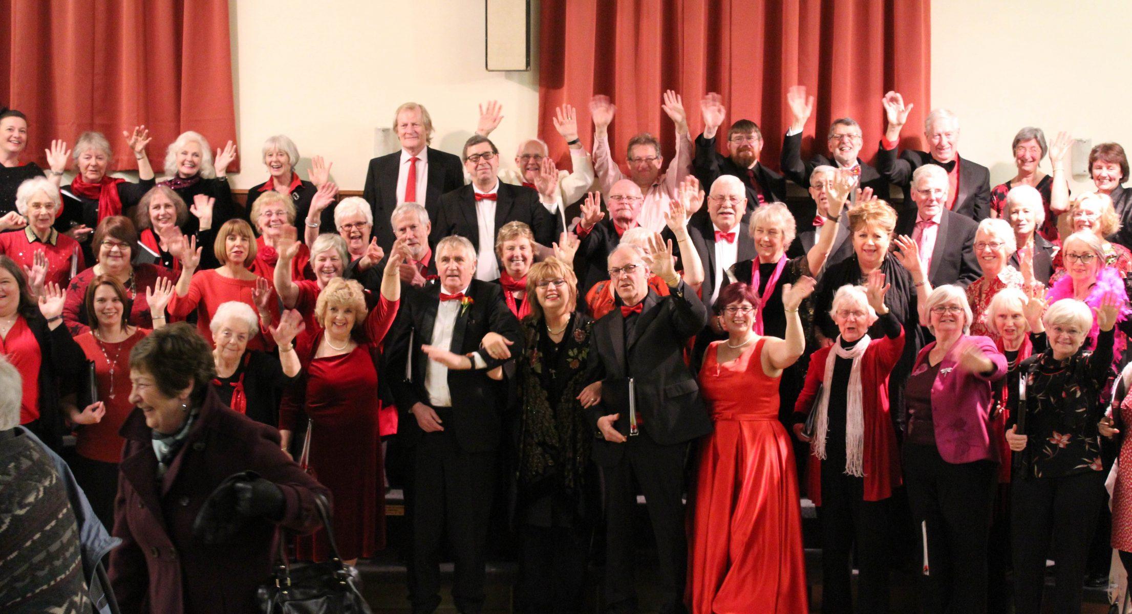 Pakefield Singers in Festive Mood