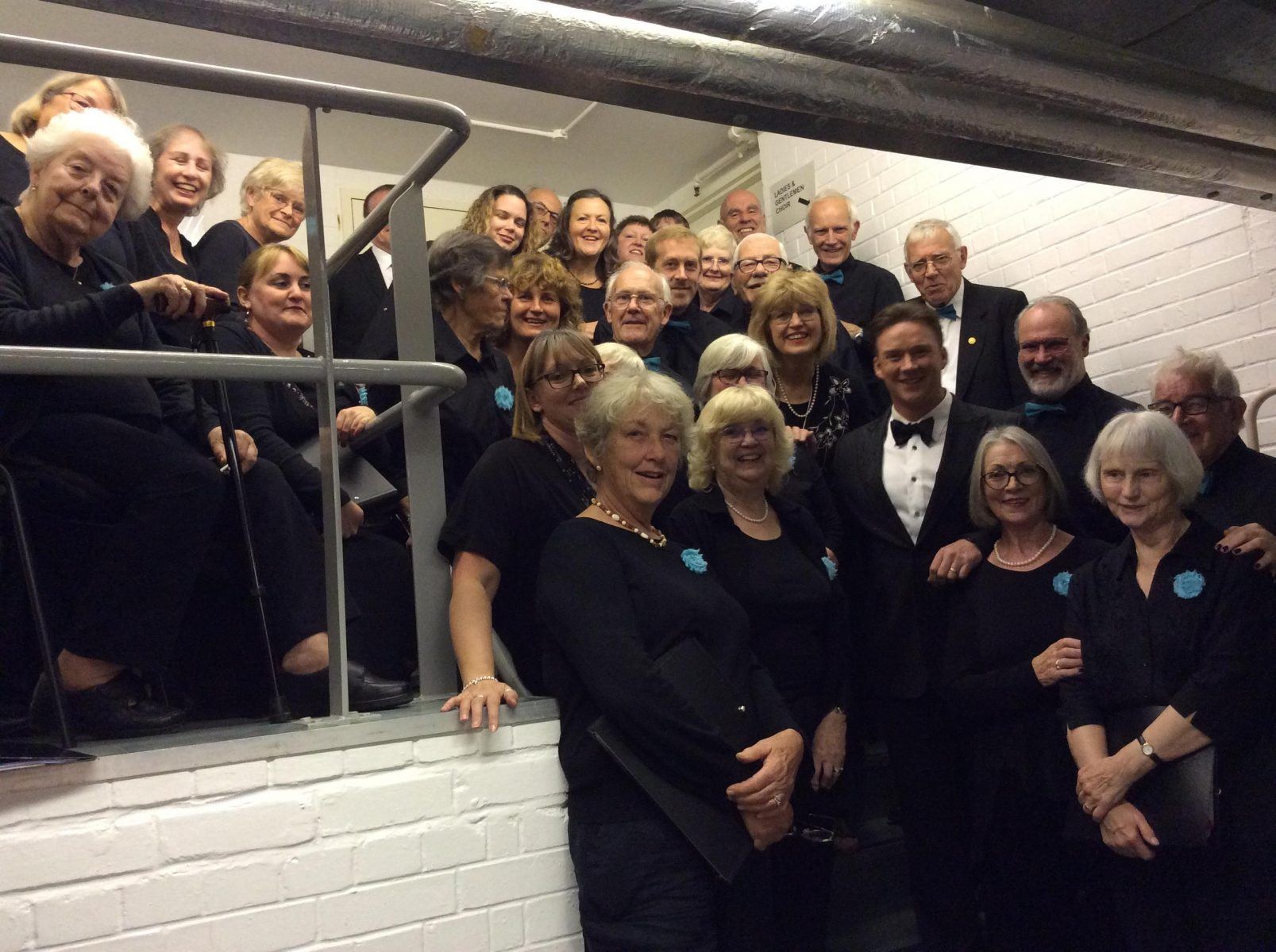 Russell Watson with Pakefield Singers (2)